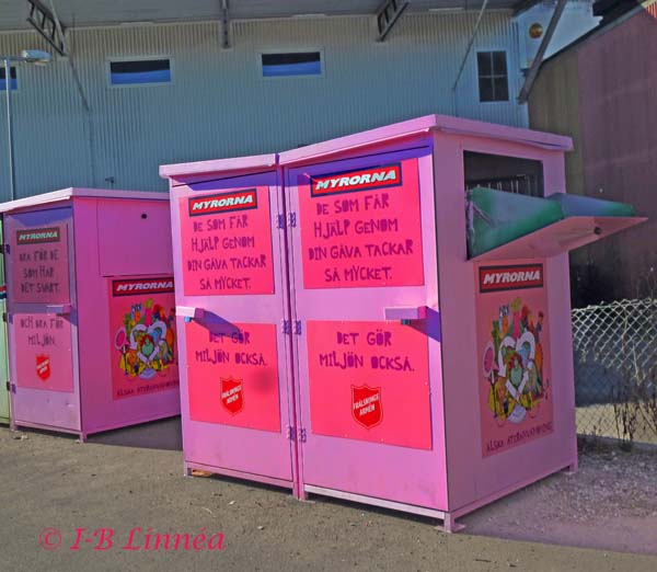 Rosa klädinsamling
