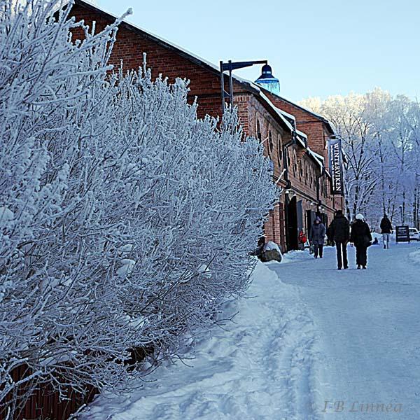Syranfabriken,snö