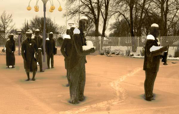 Figurer i snö